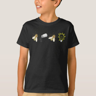Camiseta O cristão que inspirado dizer seja sal seja luz