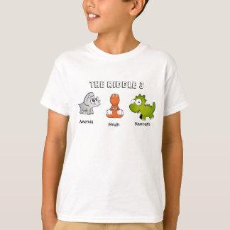 Camiseta O crivo 3 como dinossauros