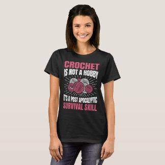 Camiseta O Crochet não é um t-shirt engraçado do Crochet do