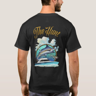 Camiseta O cruzador de Viking da caça