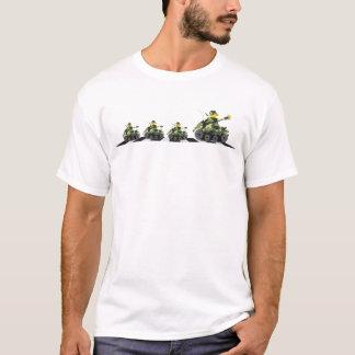 Camiseta O cruzamento do pato