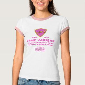 Camiseta O CTR protege o rosa árabe, acampamento Arifjan,