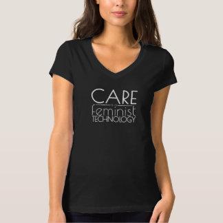 Camiseta O cuidado é uma tecnologia feminista
