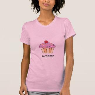 Camiseta o cupcake polvilha kara