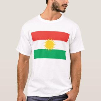 Camiseta O Curdistão embandeira o t-shirt