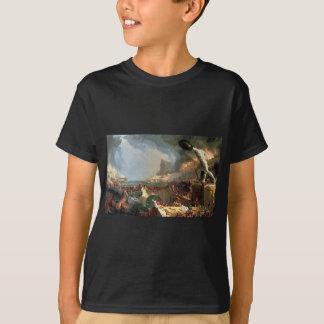 Camiseta O curso do império: Destruição pelo Cole de Thomas