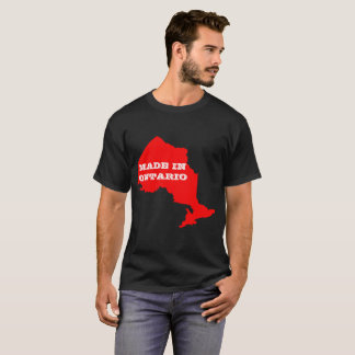 Camiseta O customizável dos homens feito no t-shirt de