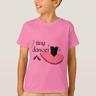 Camiseta O dançarino minúsculo caçoa o Tshirt