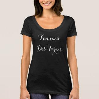 Camiseta O DES de Femmes força (mulheres das forças) FFOC