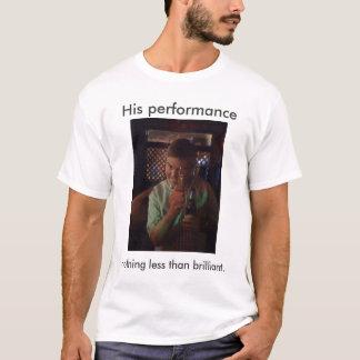 Camiseta O desempenho de Jake