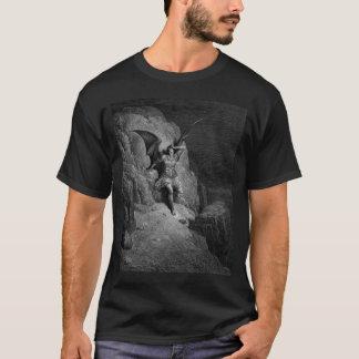 Camiseta O desespero infinito da satã - Gustave Dore