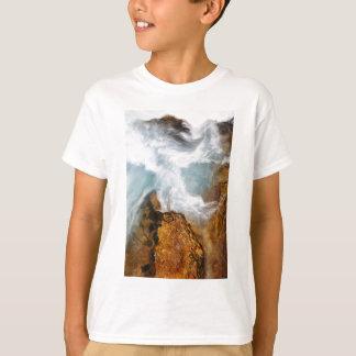 Camiseta O desfiladeiro de Soteska Vintgar no outono