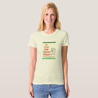 Camiseta o design de jardinagem amazon do jardim vegetal