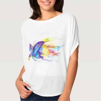 Camiseta O design do pintor original da borboleta da