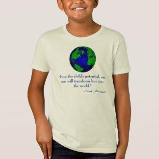 Camiseta O design final do globo caçoa o t-shirt