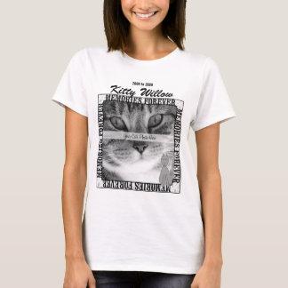 Camiseta O DESIGN OBSOLETO recorda sua foto do gato