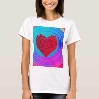 Camiseta O design superior das mulheres