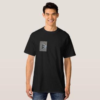 Camiseta O design T do bolso do diabo