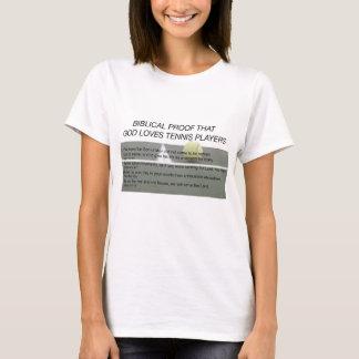 Camiseta O deus ama o tênis