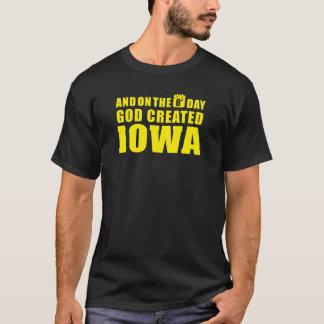 """Camiseta O """"deus criou IOWA """""""
