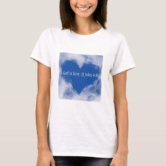 Camiseta O deus é t-shirt do amor
