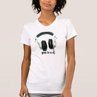 Camiseta O deus é um DJ V