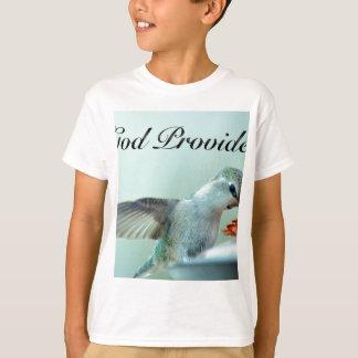 Camiseta O deus fornece