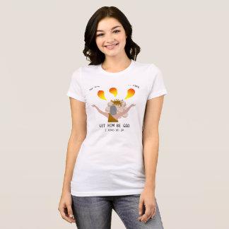 Camiseta O deus que responde pelo fogo