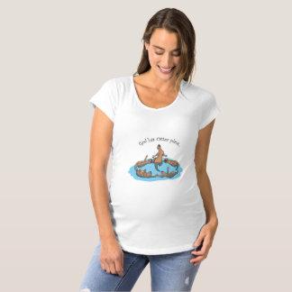 Camiseta O deus tem planos da lontra… T-shirt