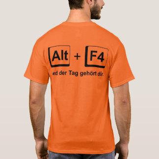 "Camiseta o dia "" alpargata ""pertence-te para cavalheiros"