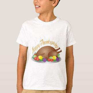 Camiseta O dia da acção de graças cozeu a ilustração do