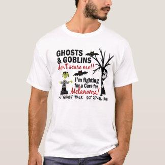 Camiseta O Dia das Bruxas 1 COSTUME da melanoma