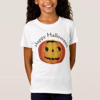 Camiseta O Dia das Bruxas antiquado, abóbora (lanterna do