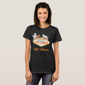 Camiseta O Dia das Bruxas assustador feliz Las Vegas