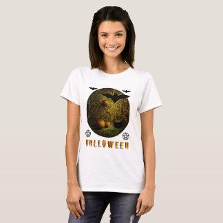 Camiseta O Dia das Bruxas feliz!