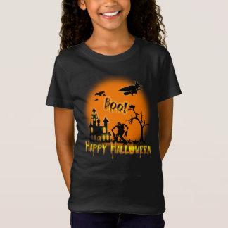 Camiseta O Dia das Bruxas feliz - t-shirt do partido da