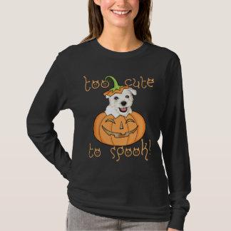 Camiseta O Dia das Bruxas Westie