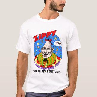 """Camiseta O Dia das Bruxas Zippy clássico """"traje """""""