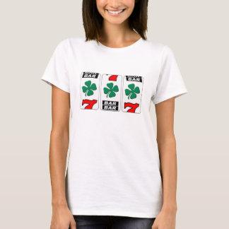 Camiseta O dia de Patrick de santo - sorte do irlandês