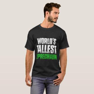 Camiseta O Dia de São Patrício o mais alto dos gnomos do