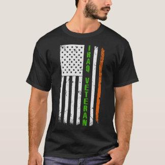 Camiseta O dia de St Patrick americano do veterano de