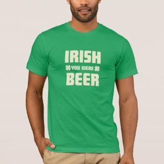Camiseta O dia de St Patrick - eu desejo que você era