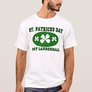 Camiseta O dia de St Patrick - Fort Lauderdale