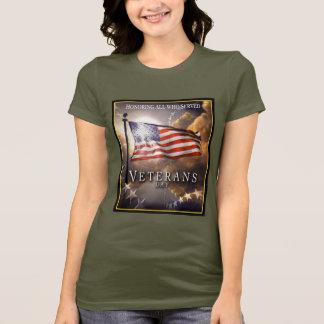 Camiseta O dia de veterano - recordando um perdido… -