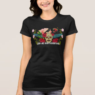 Camiseta O dia do morto personalizou o t-shirt cabido