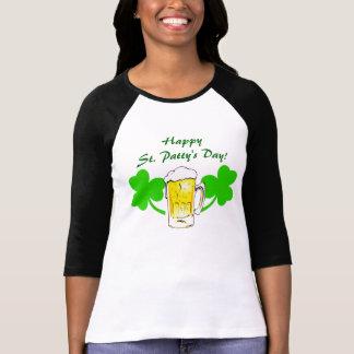 Camiseta O dia do rissol feliz do St.! T-shirt afortunado