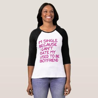 Camiseta O dia dos namorados cita o Tshirt porque eu sou