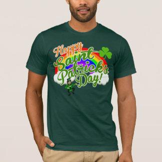 Camiseta O dia feliz clássico de Patrick de santo