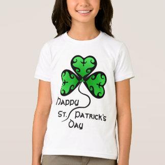 Camiseta O dia gótico de St Patrick do trevo