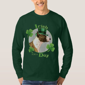 Camiseta O dia mini bull terrier de St Patrick